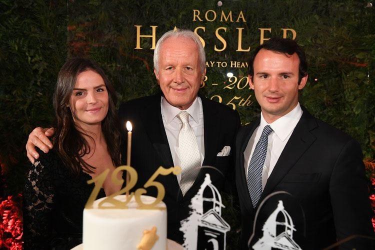 I 125 anni dell'Hotel Hassler E Wirth ne fa 40 da proprietario