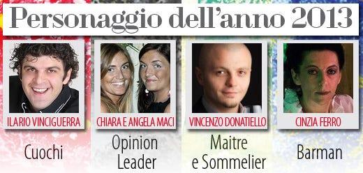 Vinciguerra, Maci, Donatiello e Ferroi Personaggi dell'anno 2013
