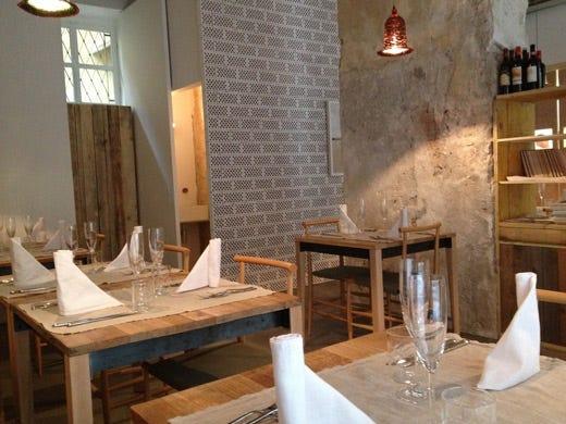 Cucina creativa al 28 posti di milano tante proposte anche for Arredamento in legno per ristorante