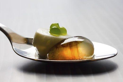 Cucina molecolare come gelificare attraverso l 39 uso di quattro additivi italia a tavola - Cucina molecolare sferificazione ...