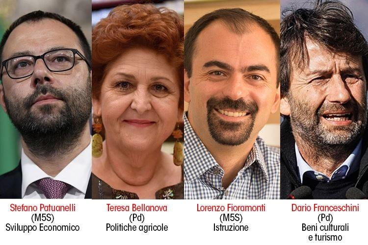 Nuovo Governo con 21 ministri Rotto il legame Turismo-Agricoltura