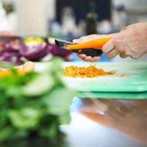 Cucinare <em>green</em> e a km zero Cuochi a scuola di