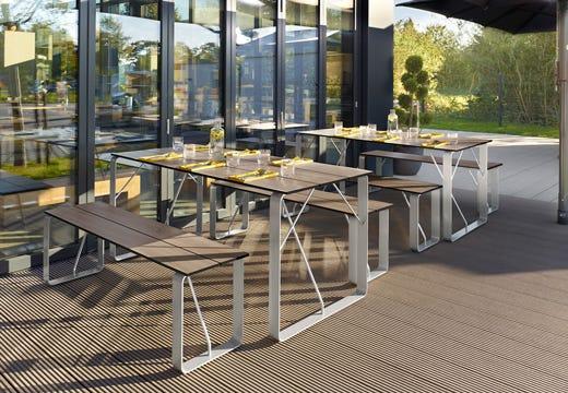 Guida ai mobili da esterni consigli per una scelta consapevole italia a tavola - Mobili in plastica per esterni ...