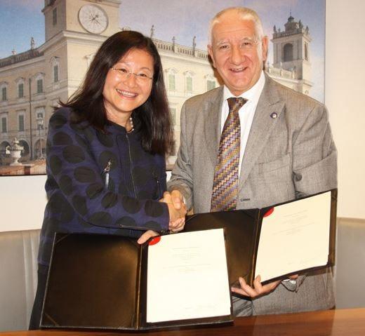 Alma e la cucina italiana a Hong KongGrazie al £$Vocational training council$£