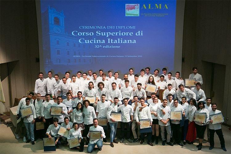 Alma, 70 i nuovi cuochi diplomati al Corso superiore di cucina italiana