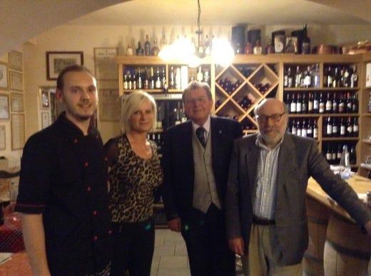 La conviviale dell accademia italiana della cucina a san miniato