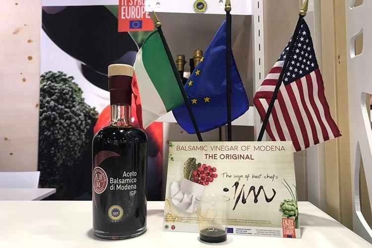 Aceto balsamico di Modena... negli Usa Un viaggio a tappe per raccontarsi