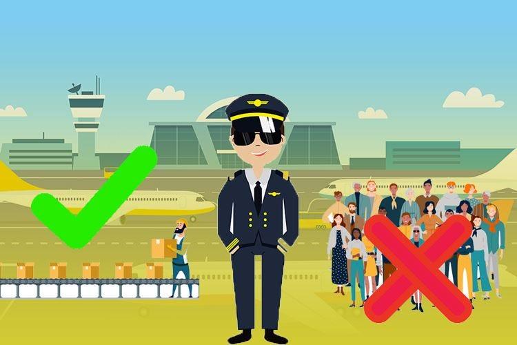 Le compagnie aeree cambiano rotta A terra le persone, a bordo le merci