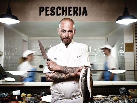 Al ristorante Pescheria con Cottura i nuovi piatti di Alberto Putti