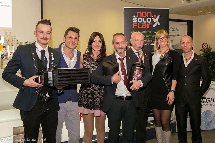 Alessandro Bonventi trionfa a Trieste all'International Bartender Competition