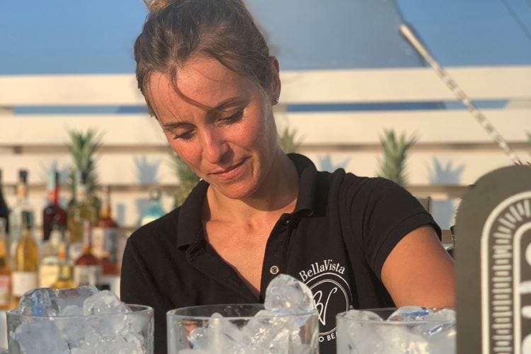 Alice Simonetti, artista del bar