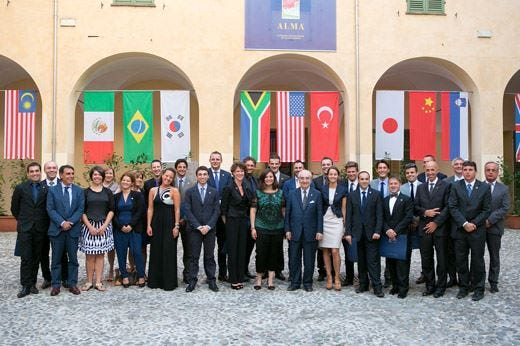 Corso Manager della ristorazione Alma22 i neo diplomati e futuri professionisti