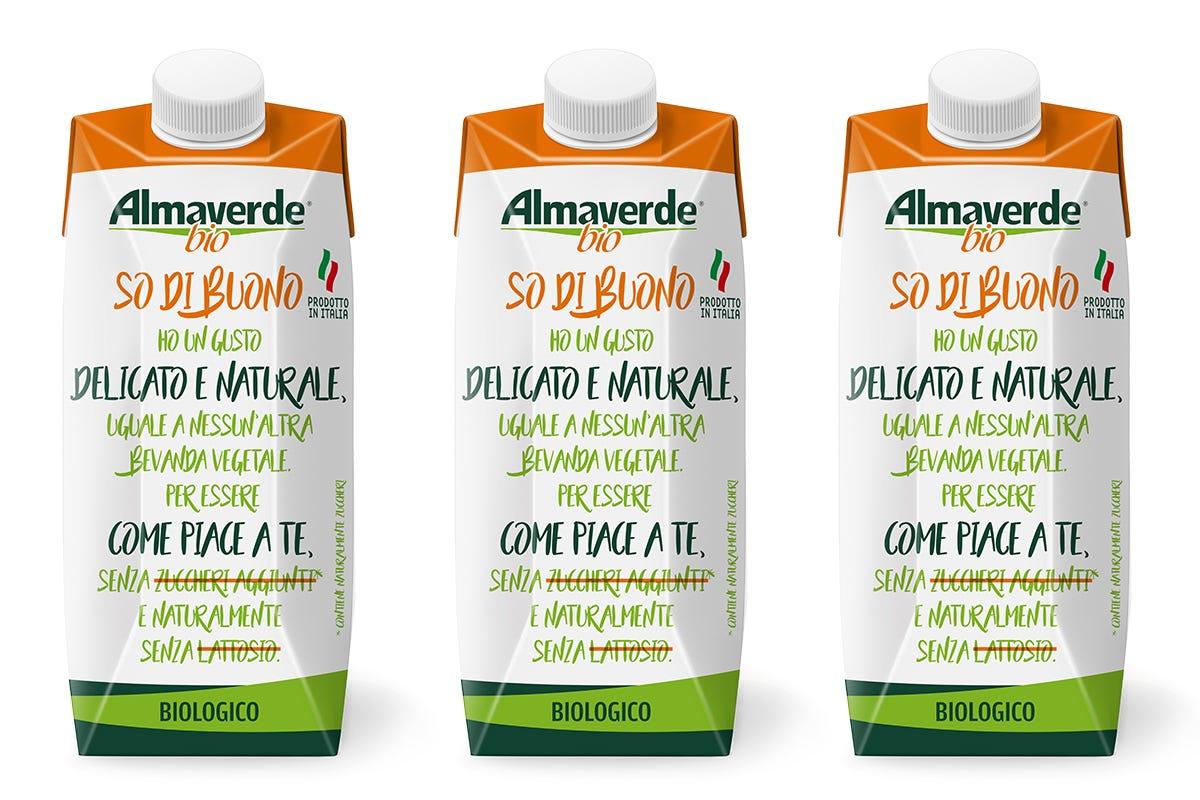 La confezione eco-friendly di So di Buono So di Buono Almaverde Bio Bevanda vegetale dal gusto delicato
