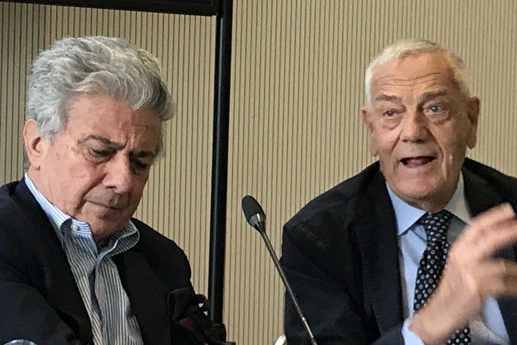 Aldo Colonetti e Pasquale Gagliardi (Da Seminario Veronelli e Fondazione Cini nasce l'Alta scuola italiana di gastronomia)