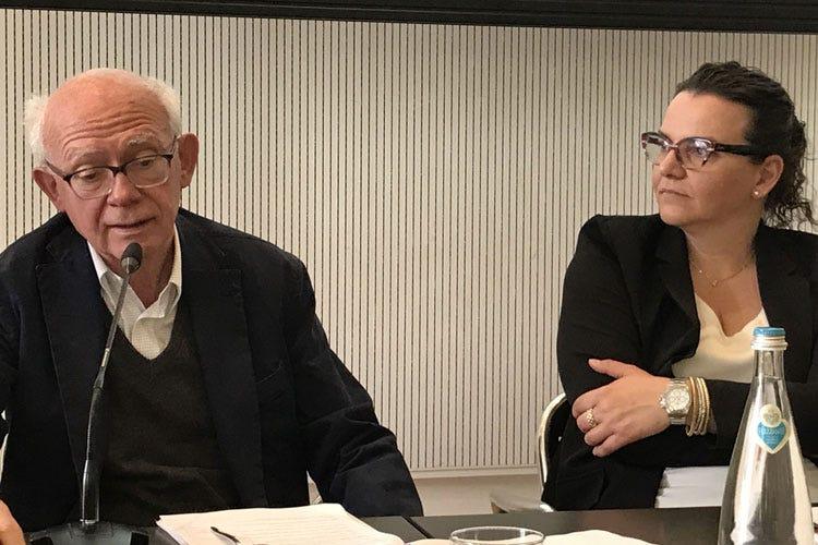 Alberto Capatti e Angela Maculan (Da Seminario Veronelli e Fondazione Cini nasce l'Alta scuola italiana di gastronomia)