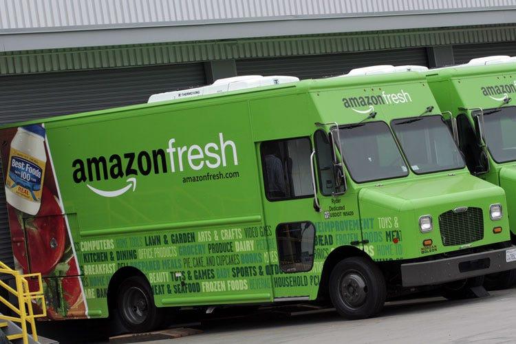 """2019 professionista nuovo economico prezzi incredibili Amazon nel mercato del """"food delivery"""" Vola in borsa il ..."""