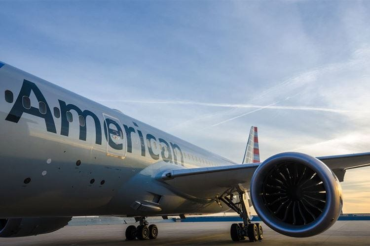 American Airlines, nuova rotta tra Los Angeles ed Auckland