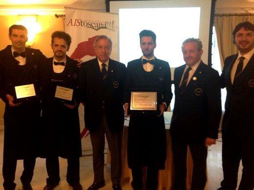 Il fiorentino Andrea Galanti è il miglior sommelier della Toscana