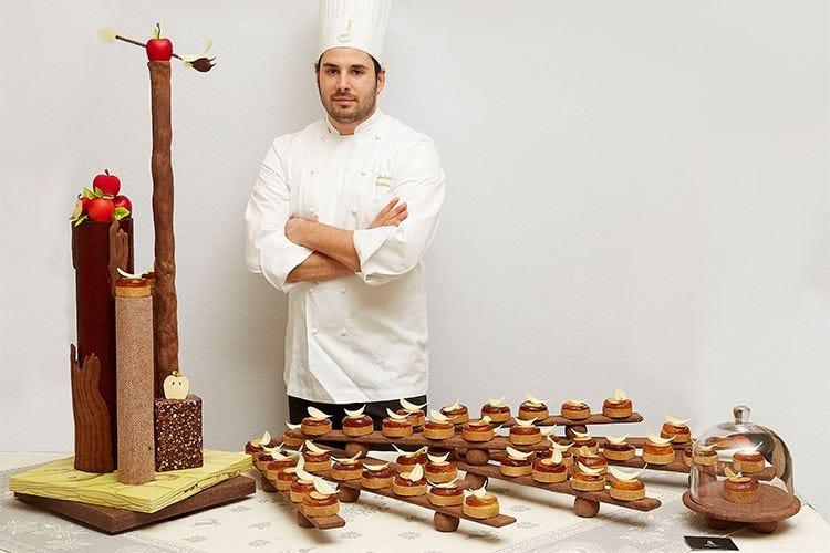 Andrea Tortora, pastry chef AMPI Con Niederkofler ha acceso le 3 stelle