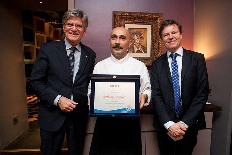 Anthony Genovese nuovo ambasciatore dello stoccafisso norvegese per il 2017
