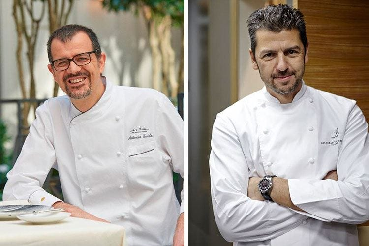 Antonio Guida e Andrea Berton 