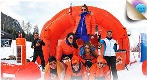Aperol Spritz presenta il Mountain TourUn aperitivo speciale sulle piste da sci