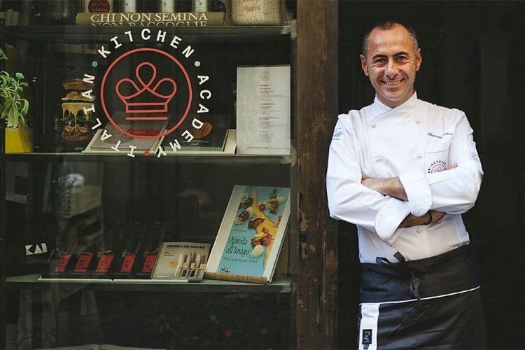 Apreda nuovo direttore didattico all'Italian Kitchen Academy di Roma