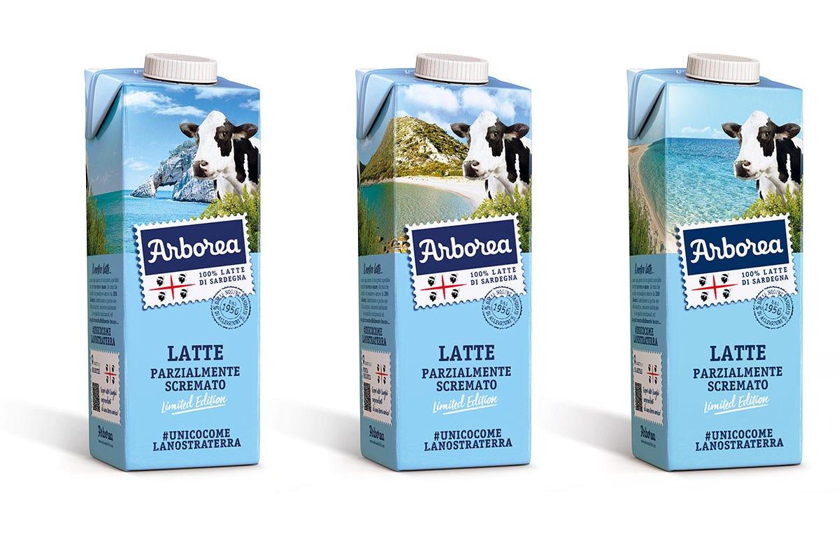 La limited edition di Latte Arborea Latte Arborea limited edition Una cartolina dalla Sardegna