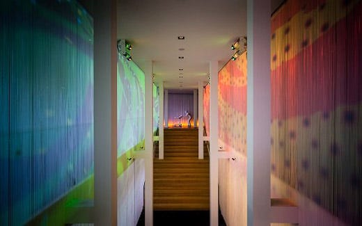 Il meglio di architettura arte e design al nuovo art otel for Arredamenti al vo