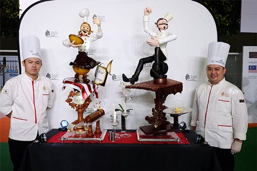 Time asian pastry cup