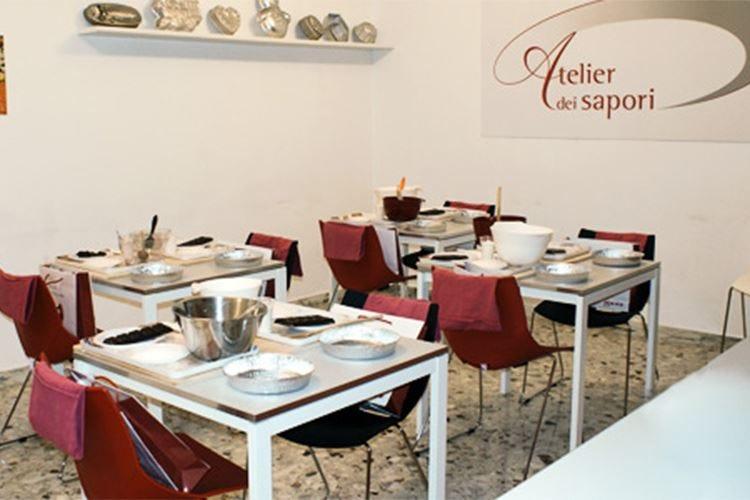Assaggi di pasta gluten free firmata Gfh all'Atelier dei Sapori di Milano