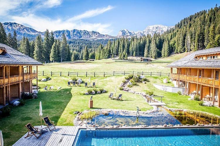 Autunno al Tirler L'eco hotel sull'Alpe di Siusi