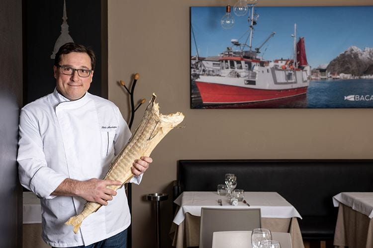 Bacalhau, osteria dedicata al merluzzo