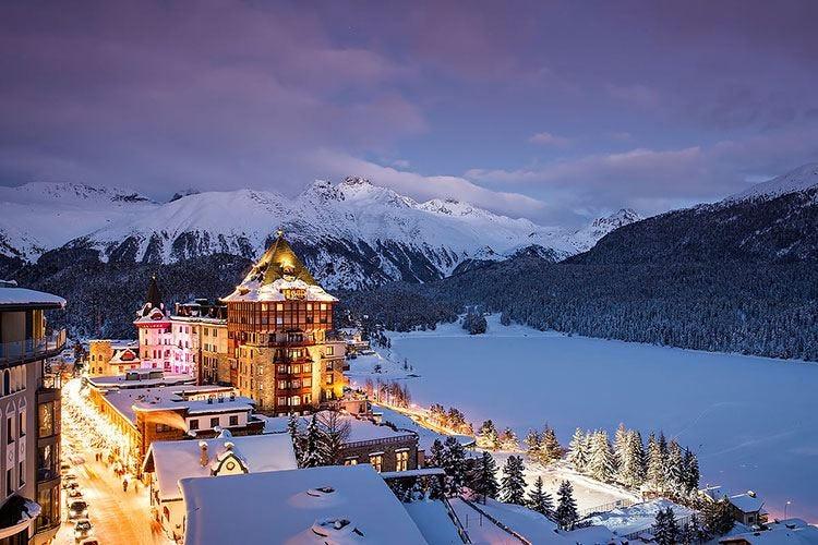 Badrutt's Palace Hotel di St. Moritz nuova Krug Ambassade
