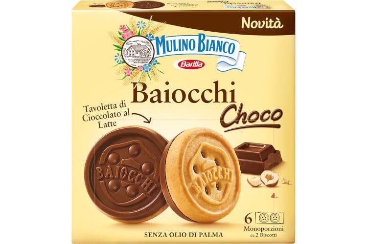 Baiocchi Choco Mulino Bianco: nuova consistenza, gusto e formato