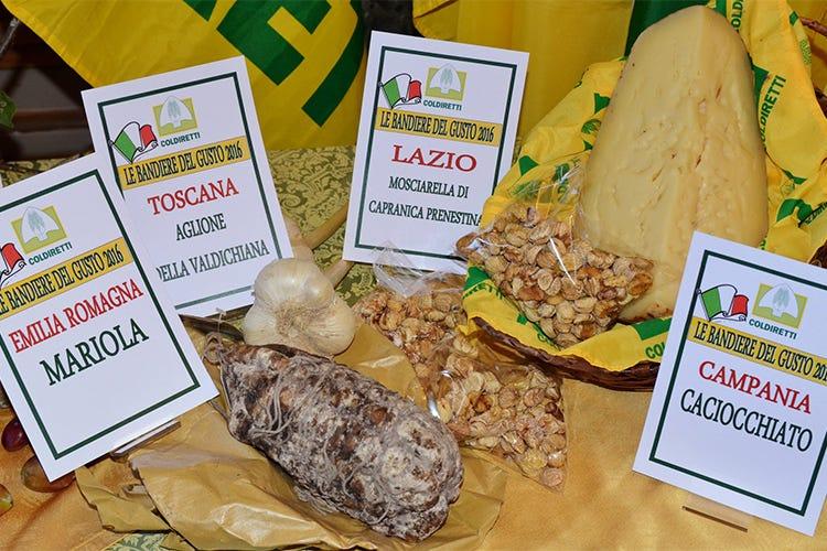 Ben 4.965 le bandiere del gusto a tavola Spicca la Campania con 486 specialità - Italia a Tavola