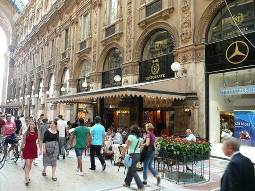 Via libera per carlo cracco nuova apertura in galleria a for Best bars milano