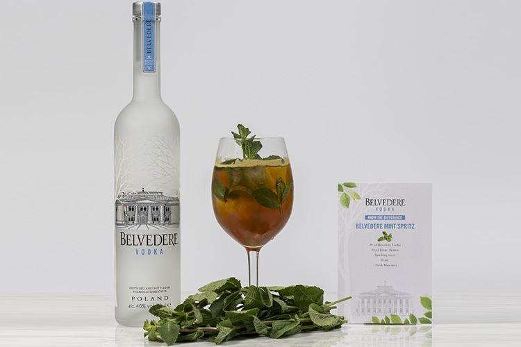 Belvedere Mint Spritz
