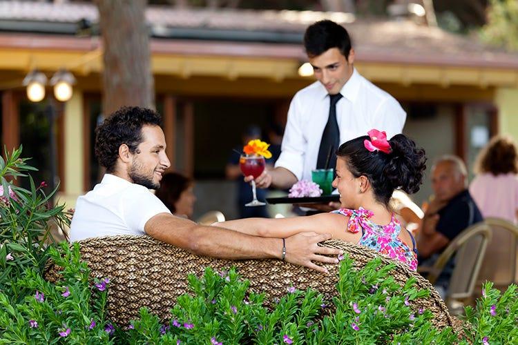 Un aperitivo romantico (Benessere in Sardena Spa e passeggiate a cavallo)