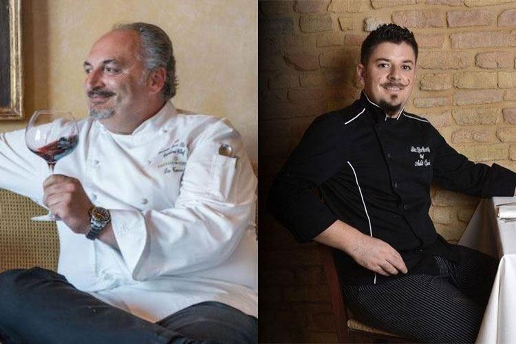Beyond Taste al Castello del Nero Oltre il gusto con gli chef Di Pirro e Curri