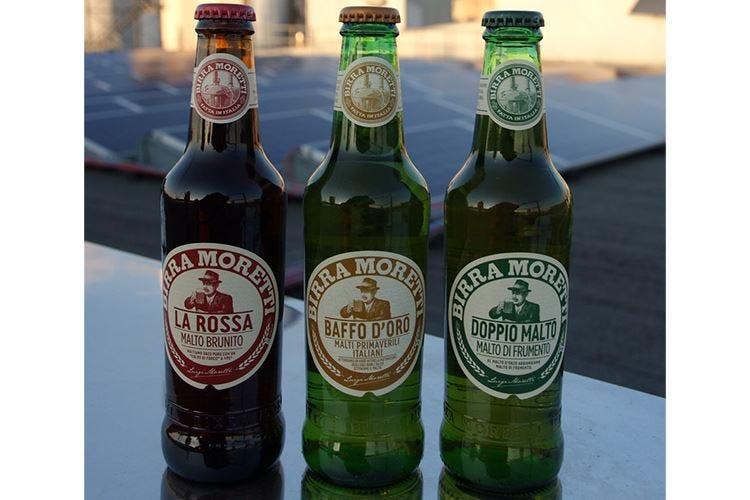 Moretti La Rossa e Doppio Malto Nuove birre prodotte con energia solare