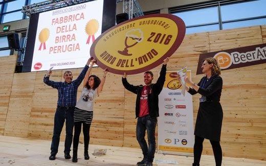 """Alla Fabbrica della Birra Perugia il titolo di """"Birrificio dell'anno"""""""
