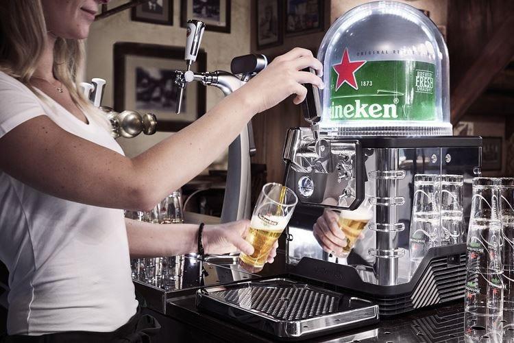 Birra alla spina con Blade Da Heineken il nuovo impianto da banco