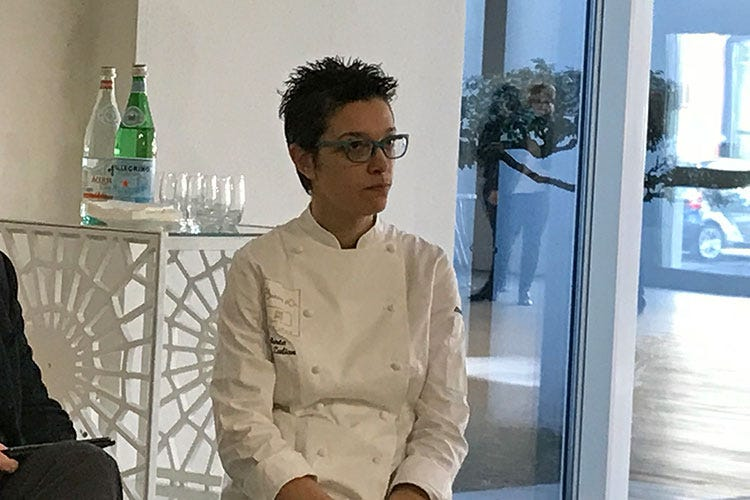 Roberta Zulian (Bocuse d'Or Europe 2018 Enrico Crippa guida il team di Ruggieri)