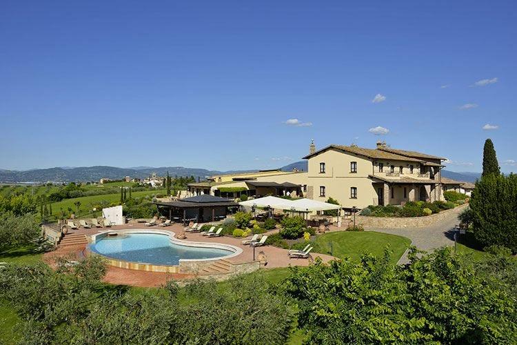 Borgobrufa Spa Resort a Torgiano A contatto con la bellezza dell'Umbria