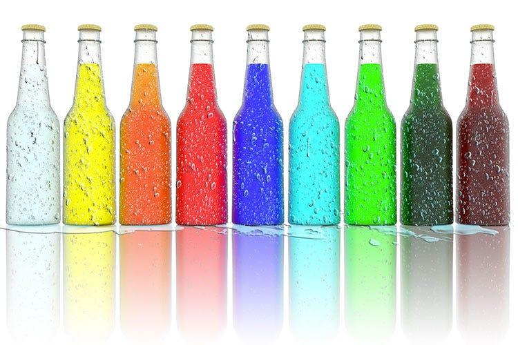 Bottiglie di vetro 1 8 nel 2017 igiene e design - Bottiglie vetro decorate ...