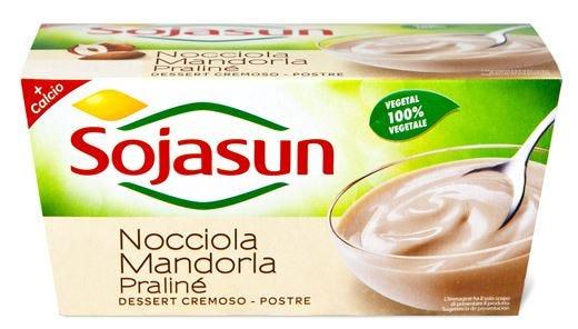 Sojasun nocciola e mandorla Nuovo dessert 100% vegetale