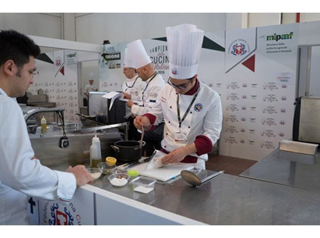 Ai Campionati di cucina italiana Fic ha vinto lo spirito di squadra