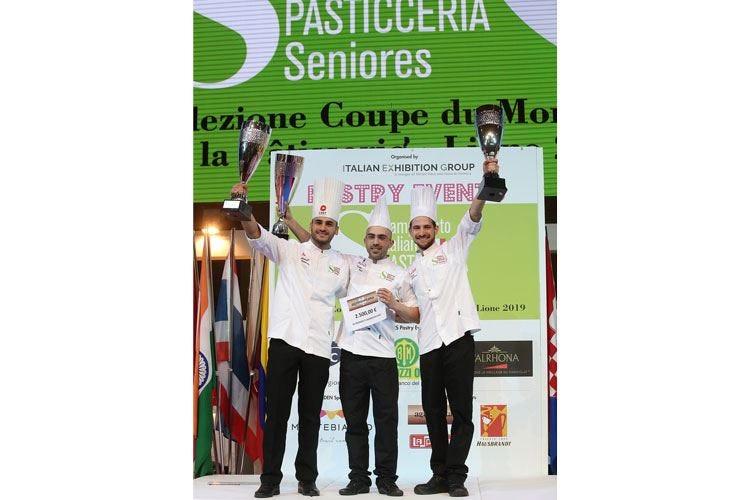 Campionati italiani di pasticceria seniores Il tricolore a Lorenzo Puca da Pescara
