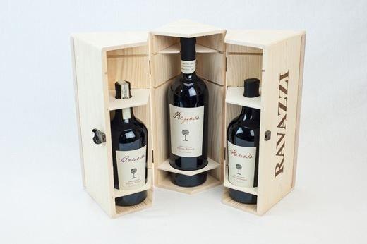 Nuovo packaging per le Cantine Ravazzi Scatole in legno eleganti e raffinate